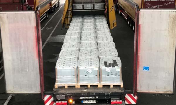 Überbreiten-Transporte mit der Spedition-Schiffers_LKWs mit verbreiterbaren Aufliegern