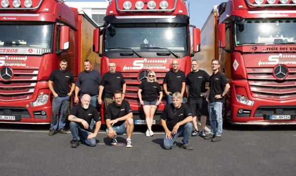 Ihr Team für professionelle Maschinentransporte Spedition-Schiffers