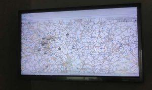LKW Disposition in Echtzeit GPS Satelliten-Überwachung Spedition-Schiffers